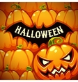 halloween poster with bat silhouette vector image vector image