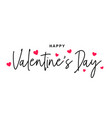 happy valentines day valentines day vector image