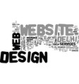 it s crucial for your site text background word vector image vector image