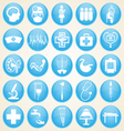 Medical icons collection vector image vector image