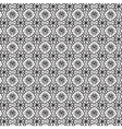 Monochrome ornament on transparent background vector image vector image