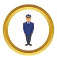 Policemen icon vector image