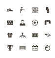 soccer - flat icons vector image vector image