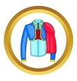 Spanish matador suit icon vector image vector image