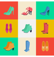 Womens Shoes Womens Fashion Seasonal Shoes vector image vector image