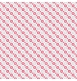 Chic seamless pattern Pink white vector image vector image