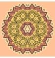 mandala in vintage style vector image