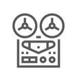 Music line icon editable stroke 48x48