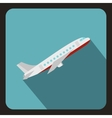 Plane icon flat style vector image vector image