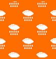 rain pattern seamless vector image vector image