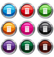 sertificate set 9 collection vector image vector image