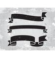 set of banner ribbons vector image