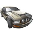 American sport car vector image vector image
