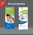 creative rollup banner design template