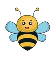cute bee animal kawaii style