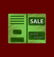 Flat shading style icon sale booklet