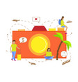 for tourism vector image vector image