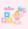 little baby shower card