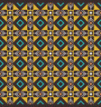 pseudo african craft ethnic pattern vector image