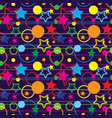 seamless magic pattern vector image