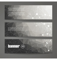 set black and white design templates vector image vector image