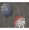 Vintage ornaments pattern vector image