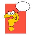 Cartoon words and symbols vector image vector image