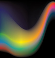 Colorful wave vector image vector image