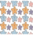 ed starfish beach seamless pattern design vector image