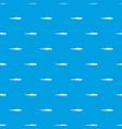 iguana pattern seamless blue vector image vector image