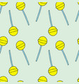 lollipops pattern vector image vector image