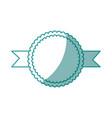 decorative ribbon icon vector image vector image