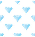 diamonds pattern on white background vector image