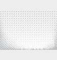 light halftone futuristic dot background vector image