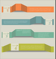 modern abstract infographic colorful background vector image vector image