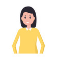 woman avatar person vector image vector image