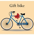 Bike gift active lifestyle sports vector image vector image