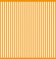 orange tablecloths patterns on the background vector image vector image