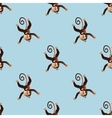 Pattern with a monkey 2 vector image vector image