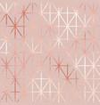 rose gold elegant pattern for design vector image vector image