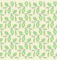 seamless pattern with catkins vector image