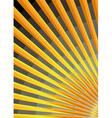 stylized sunrise vector image vector image