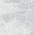 Waves hand-drawn pattern abstract background curle vector image vector image