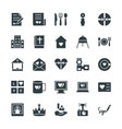 Wedding Cool Icons 3 vector image vector image