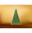 Abstract green christmas tree EPS 10 vector image vector image
