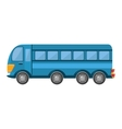 bus public transport isolated icon vector image vector image