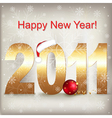 celebration 2011 vector image vector image