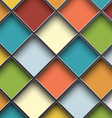 colorful square cells vector image