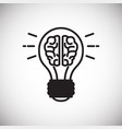 engineering idea icon on white background for vector image