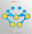 Minimal infographics template easily to be vector image
